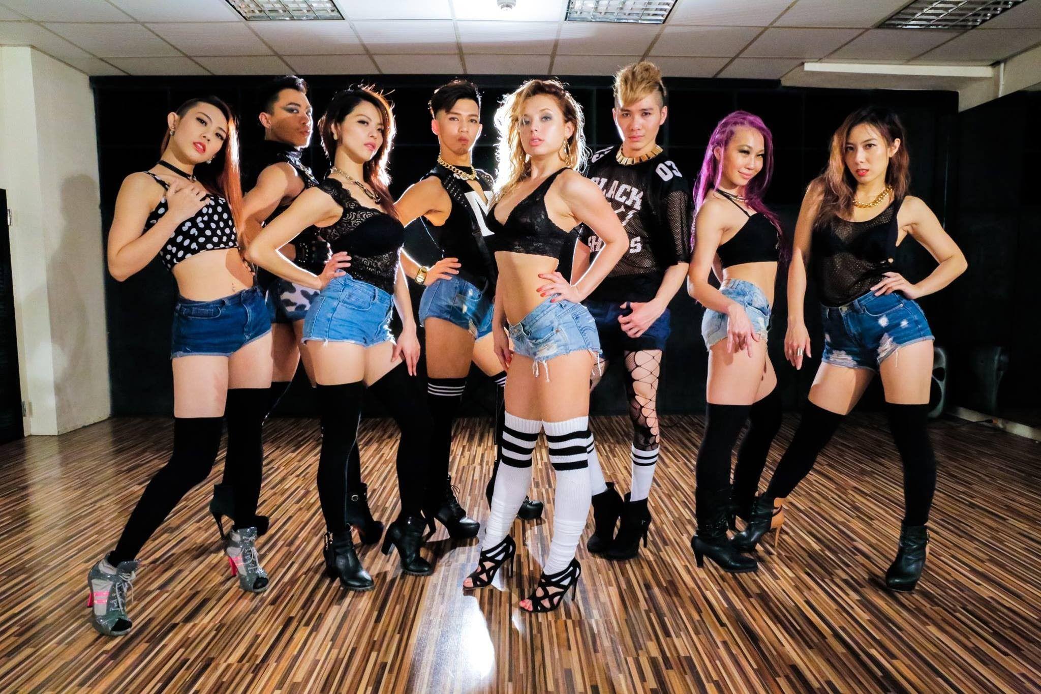 Dance team ass pics