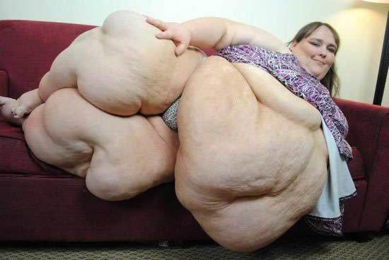 The world fattest pornstar
