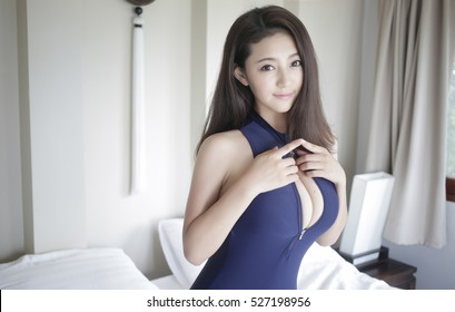 Big the in korean tits girls