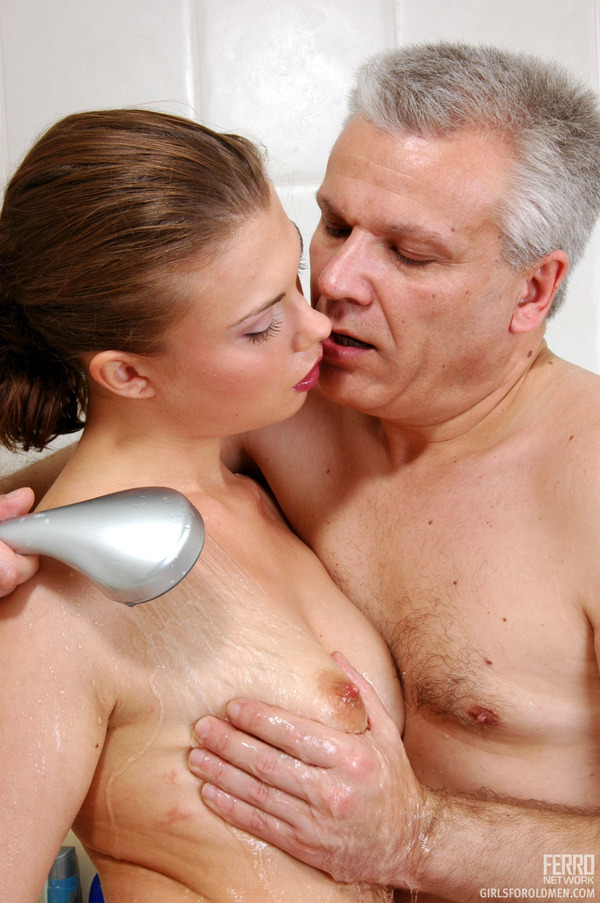Old men and women naked