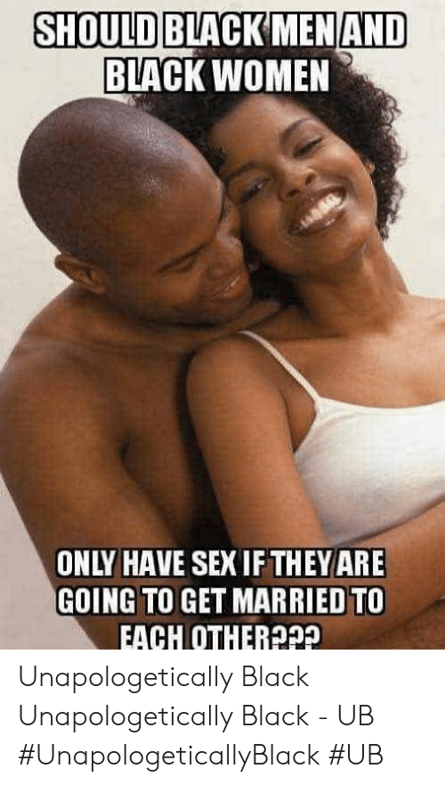 Black having sex meme