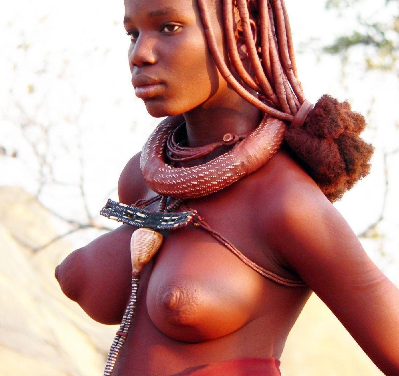 Africa breast and pussy