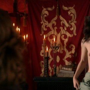 Hot naked girl american flag