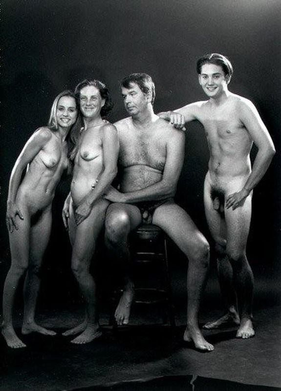 Family porn nude naked