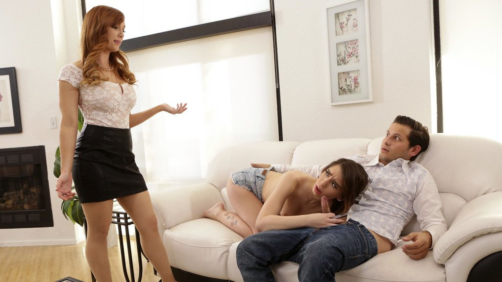 Naughty pictures of family threesomes