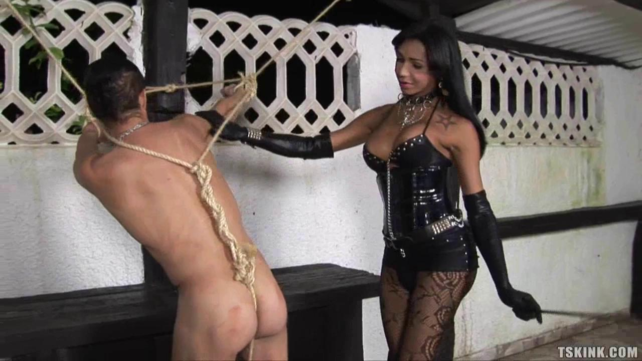 Butt fucking mistress slave there