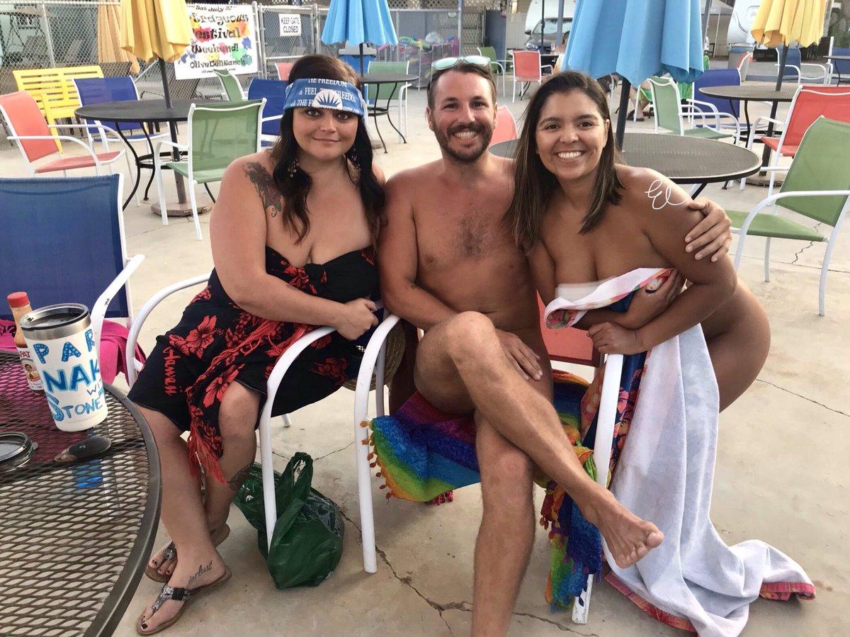Happy nudist year family nude