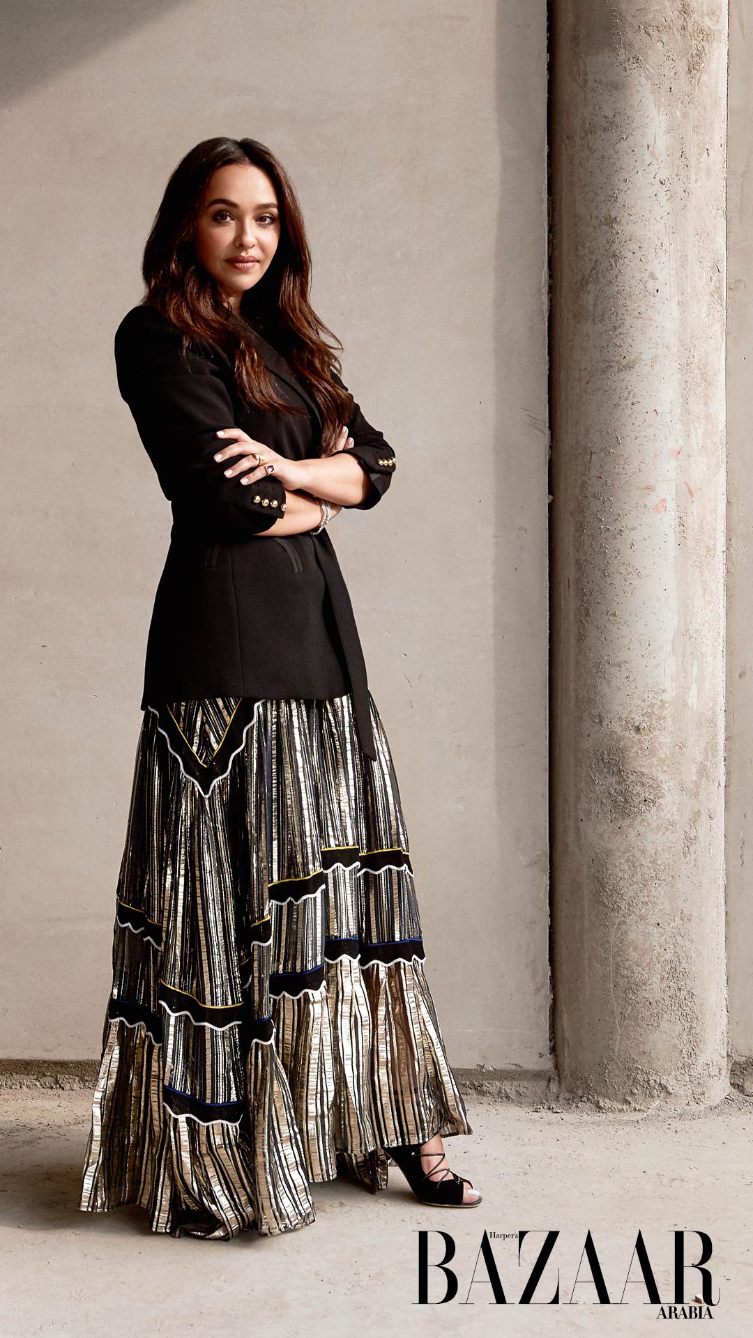 Elegant fully clothed women