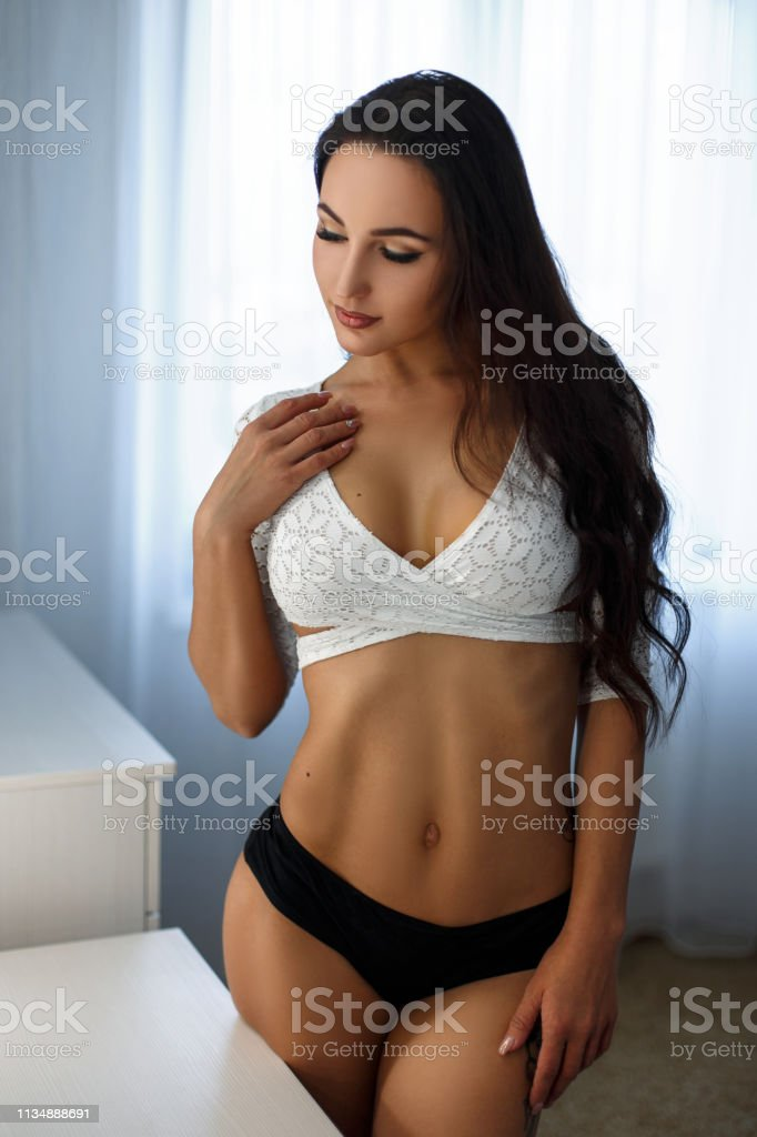 Black and white sexy big tit boob