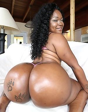 Naked black big yansh