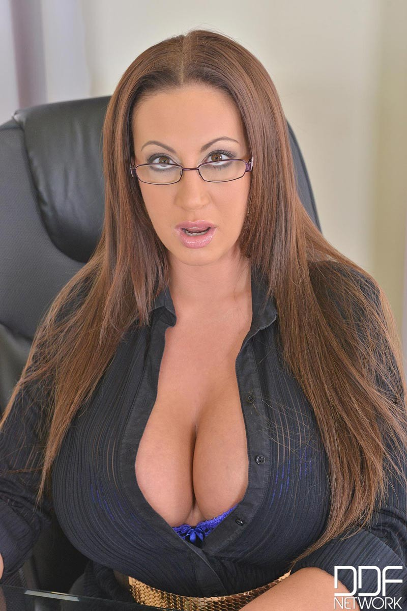 Busty secretary big dick