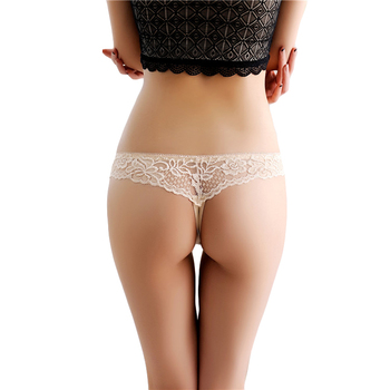 Young girls wearing thongs