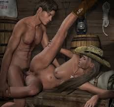 Ladies black sexy naked