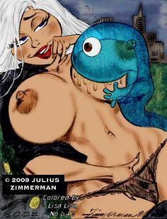 Poron monstruos vs aliens desnuda