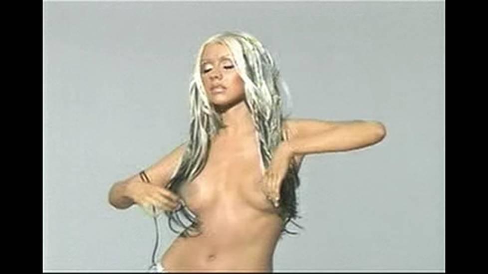 Christina aguilera nude porn