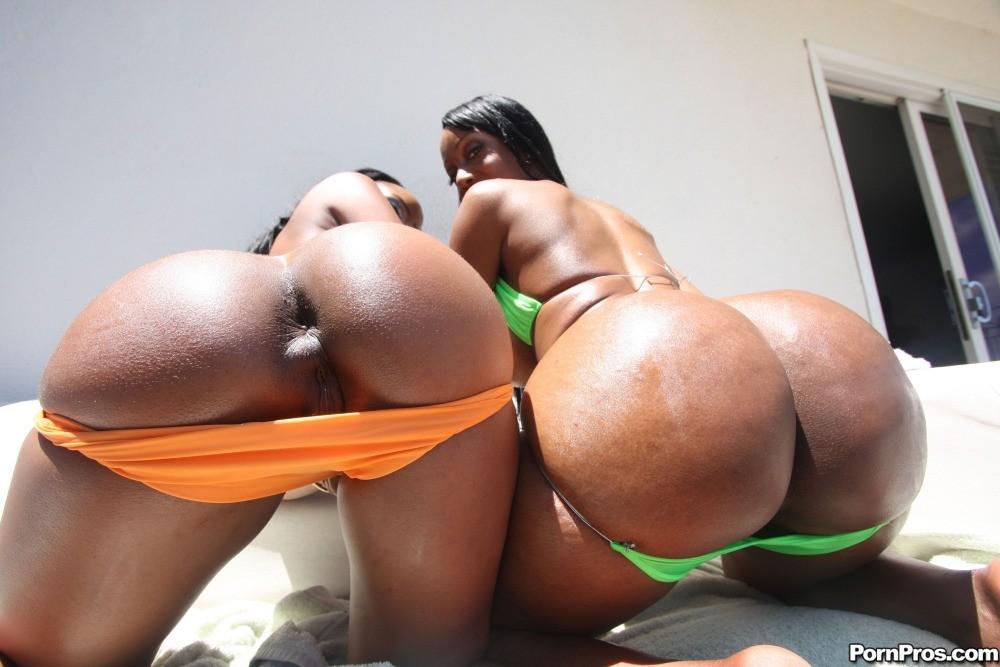 Nacked big black booty