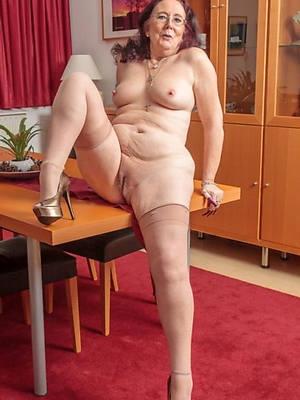 Nude big hairy granny nylon cum inside