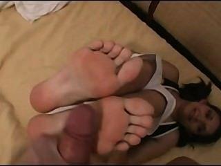 Cum on feet free pics