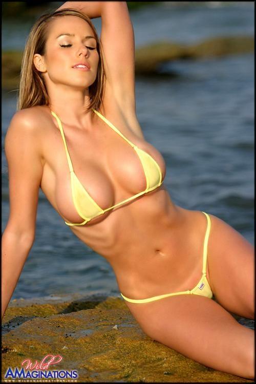 Wild amaginations tj yellow bikini
