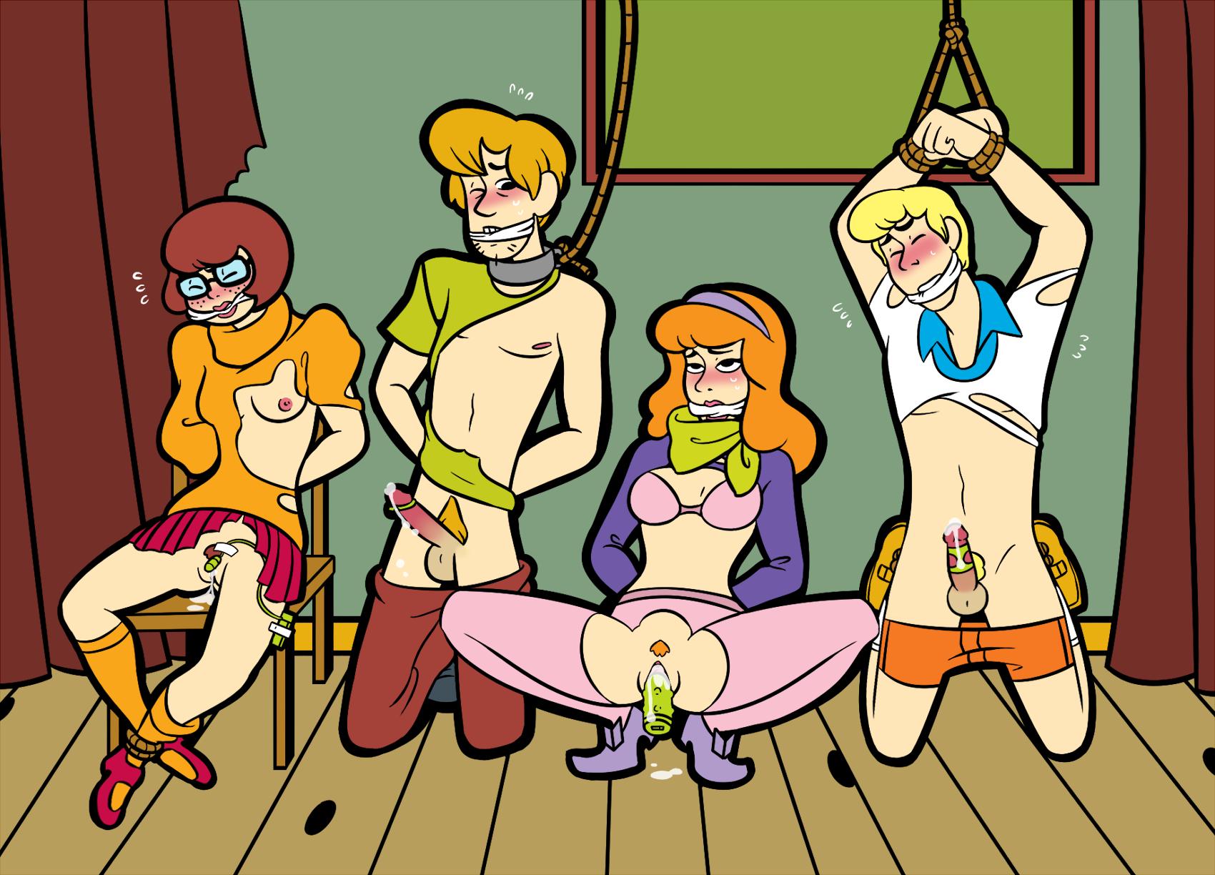 Scooby doo shaggy und porno