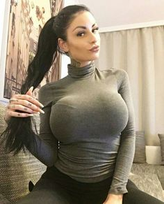Tight sweaters big tits