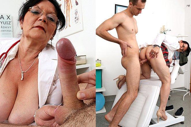 Granny fat ass nurse