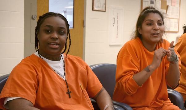Sex life in women prison
