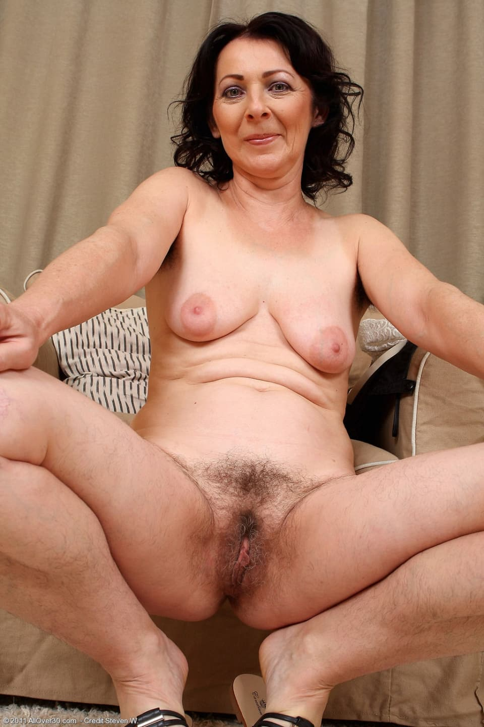 Mature hairy naked irish women