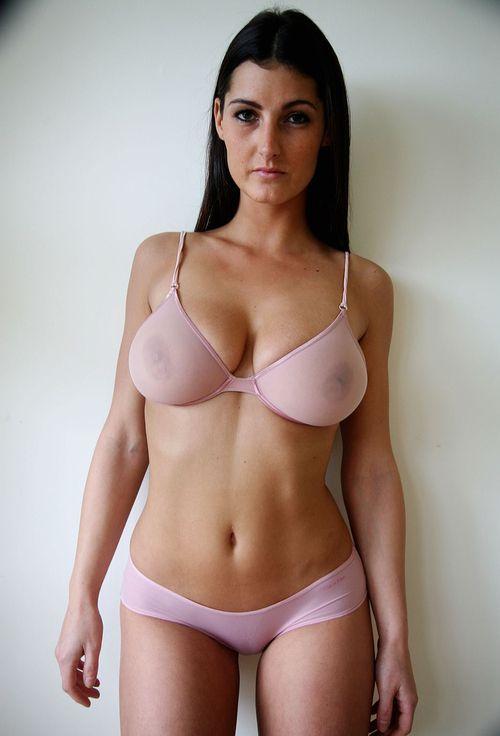 Big boob milf sheer panties