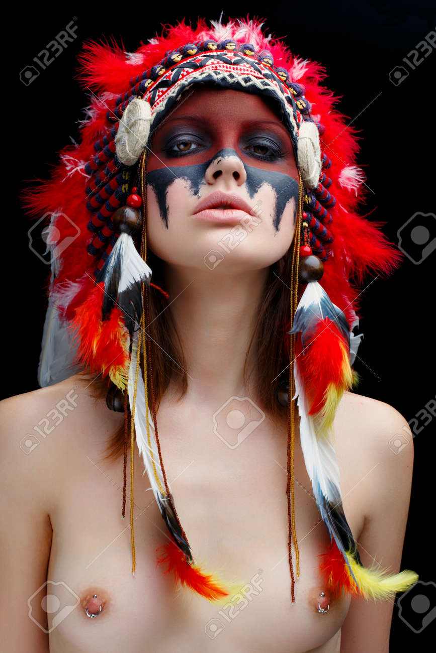 Red indian girl nude
