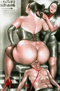 Big boobs femdom cartoons