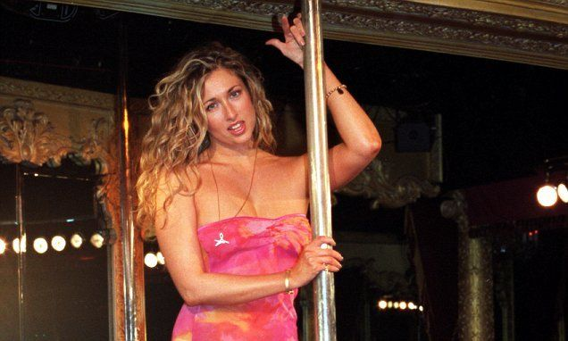 Madison stripper from sapphires vegas