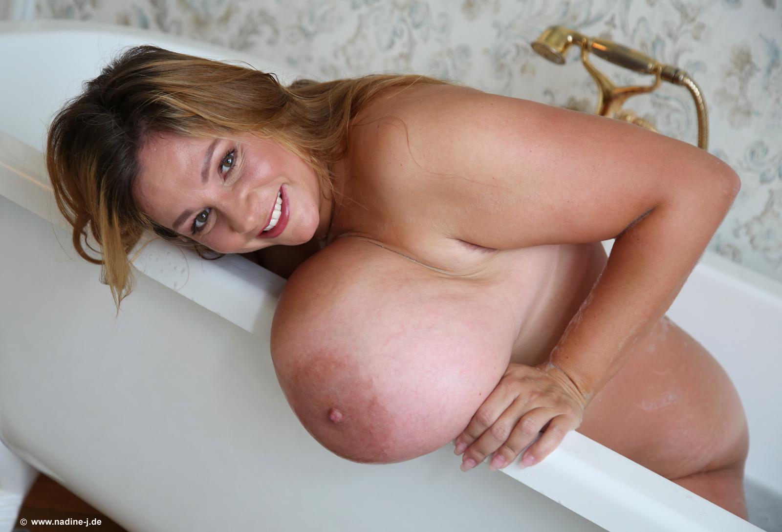 Massive breasts jansen nadine