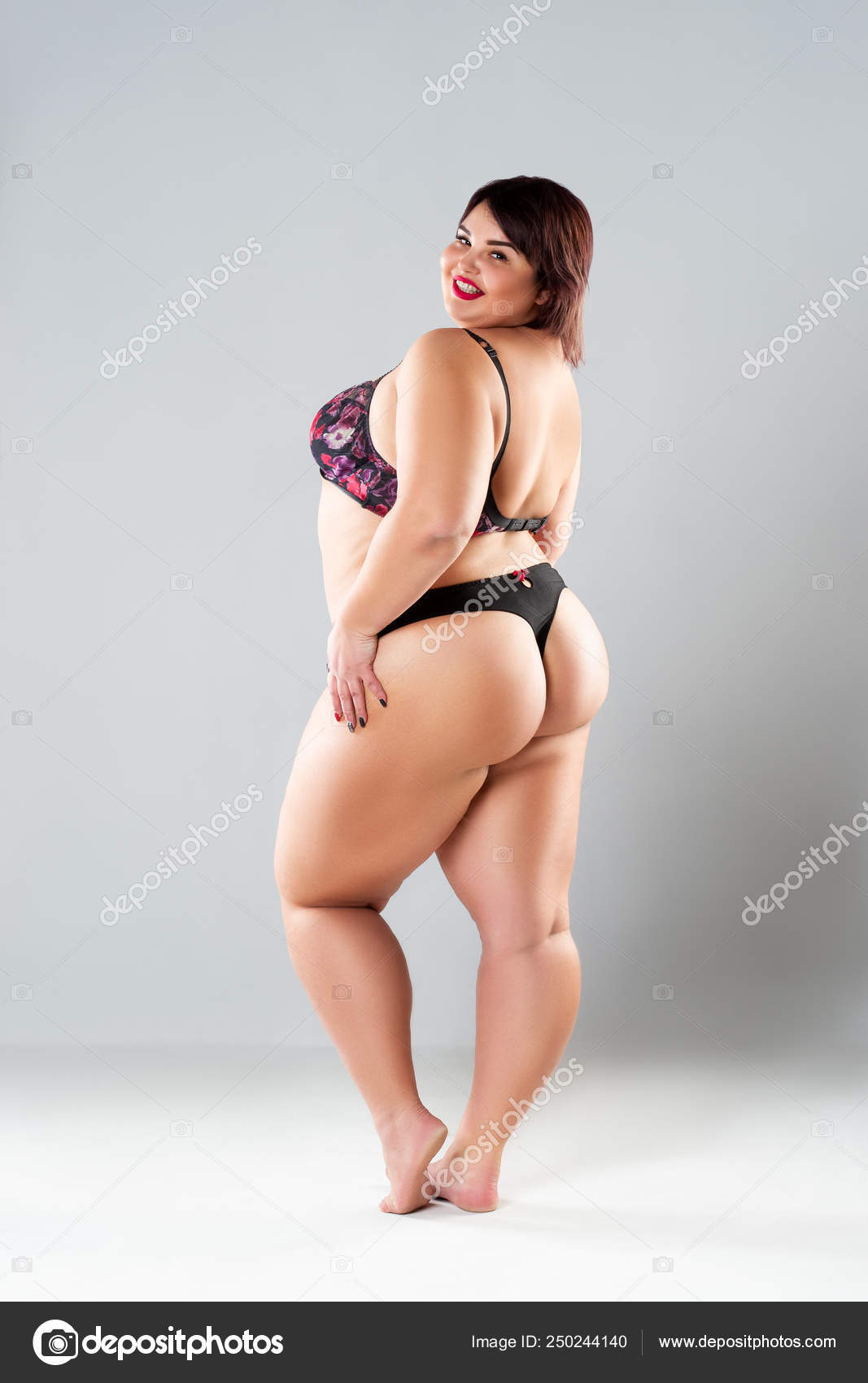 Sexy chubby in panties