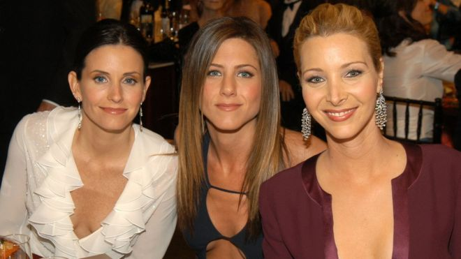 Kudrow lisa courteney cox jennifer aniston friends