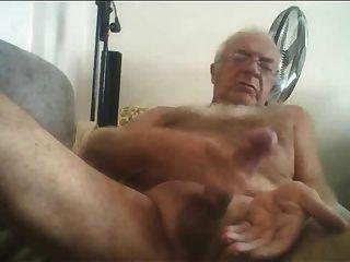 Silver chest grandpa porn