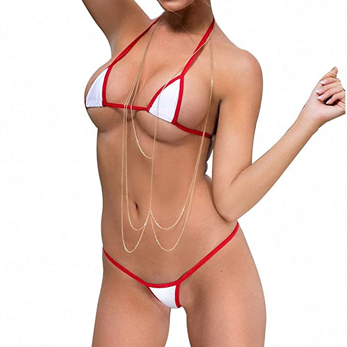 Beaches contests mini micro bikini