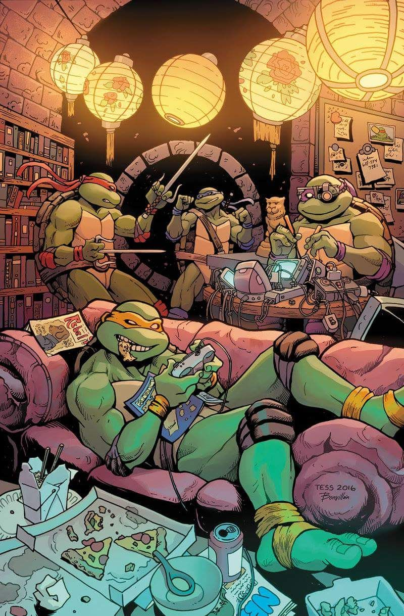 Ninja turtles cartoon comic porn