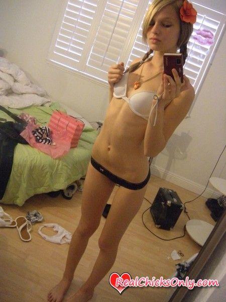 Self cute panties bra shot