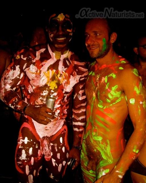 Purenudism. com body- art