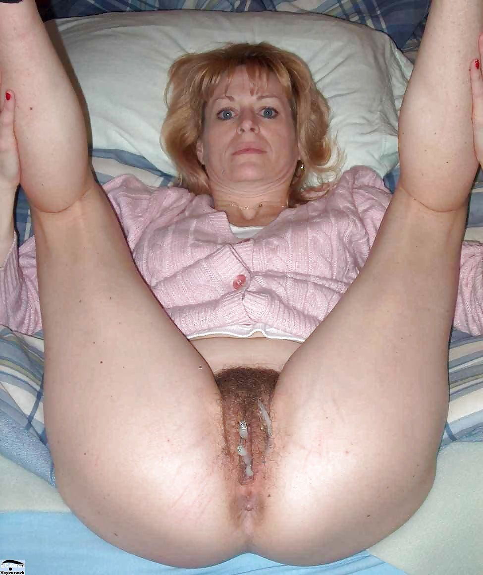 Cum mature mom filled