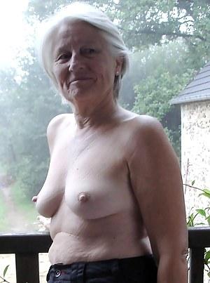 Naked perky juggs granny