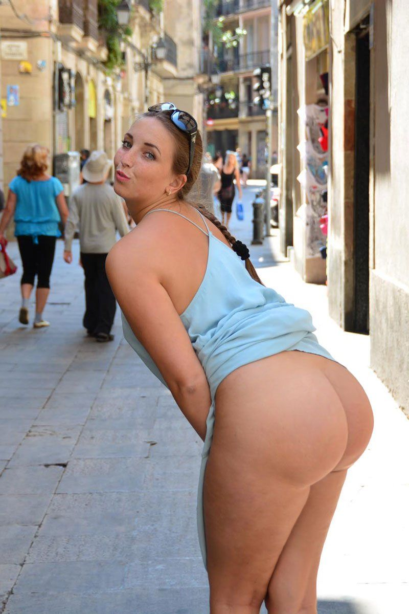 Best public naked ass