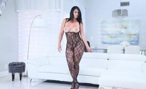 Irina shayk body paint nude