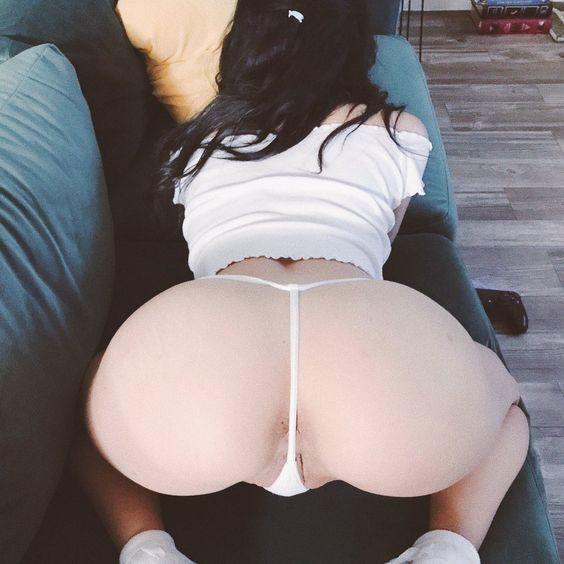 Korean hot girl bent over
