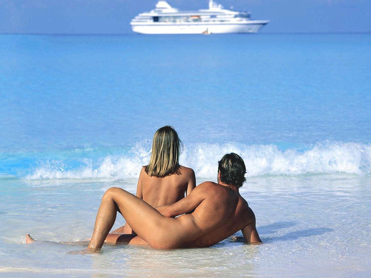 Russian family nude beach girl
