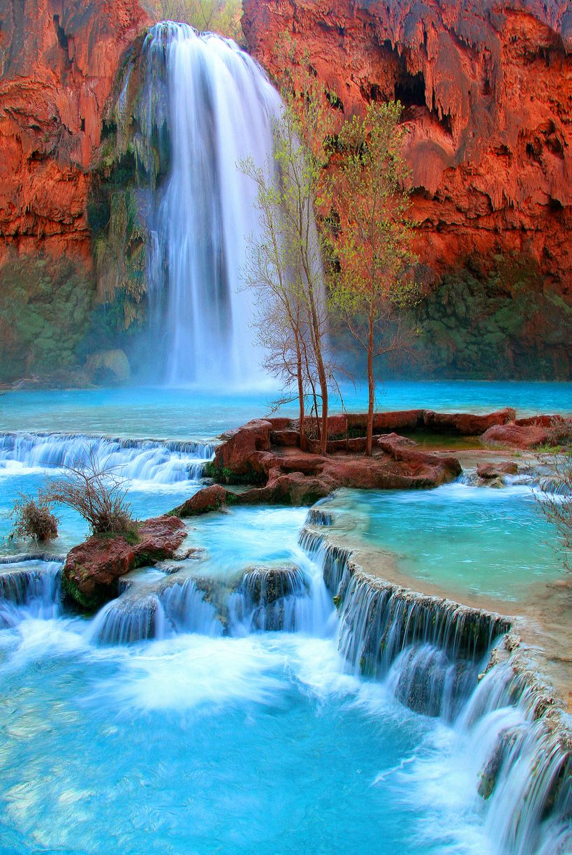 Arizona havasu canyon falls grand