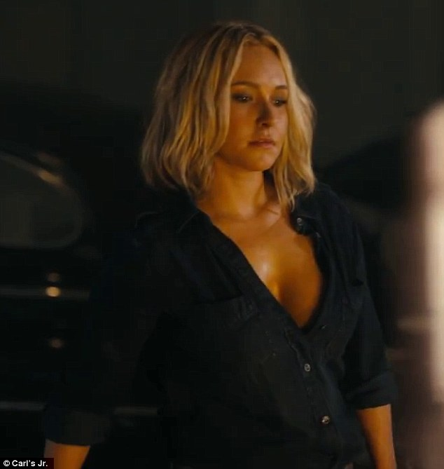 Hayden panettiere hot scene