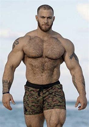 Hairy men hot naked