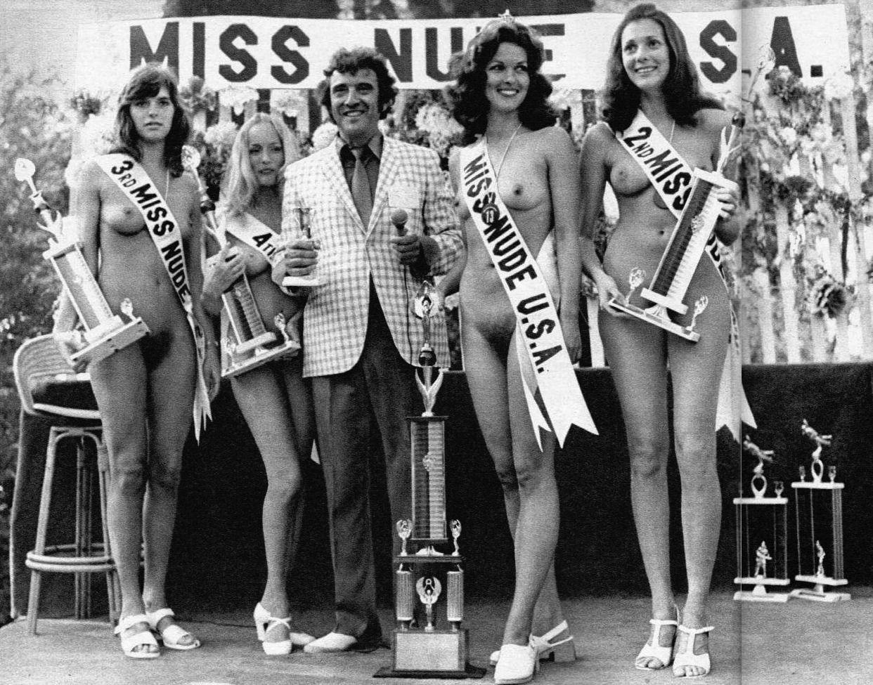 Miss beauty nudist contest